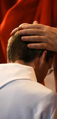 impor as mãos, imposição de mãos, oração, abençoar, curar
